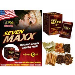 SL13 Tăng cường sinh lý nam tự nhiên Sevenmax cao cấp
